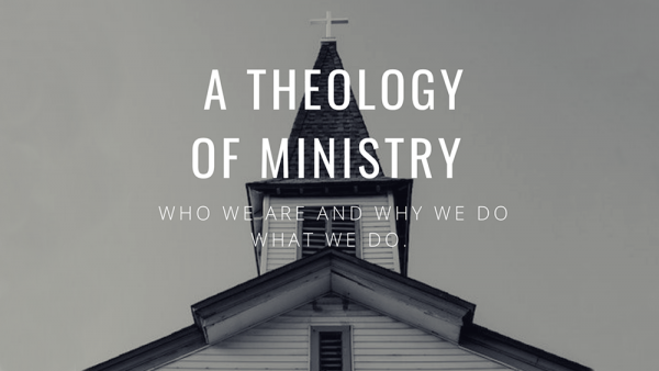 Theology of Ministry - 1 Image